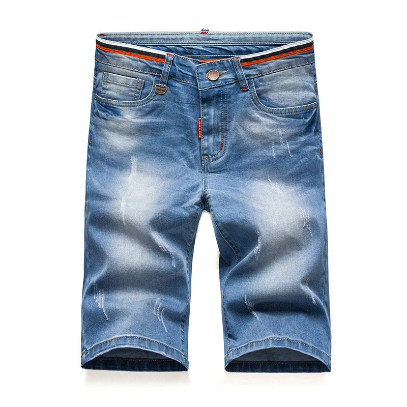 Teenager Casual Jeans Shorts Shorts 8002