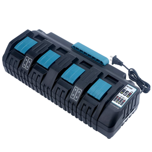 Charger Makita 14.4v Charging-Socket-Charge Li-Ion-Battery for 18V 4-Port 3A New-Product