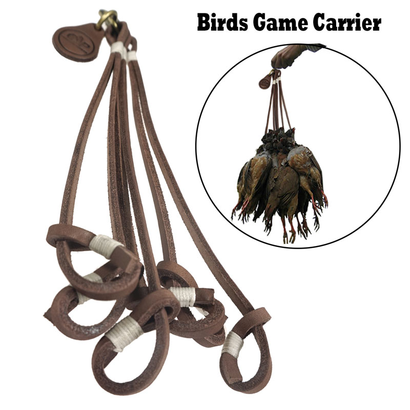 Leder Vogel Fasan Carrier Spiel Halter Aufh/änger Shooting Ente Taube Jagd