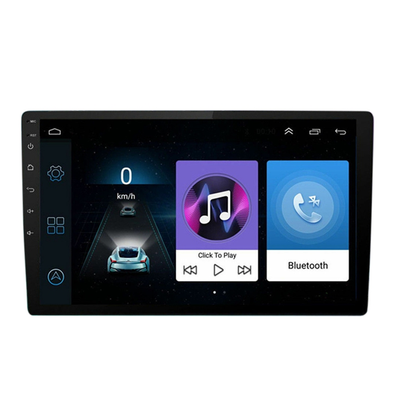 10.1 Inch Android 8.1 Quad Core 2 Din Car Stereo Radio GPS Wifi Press MP5 Player 16G