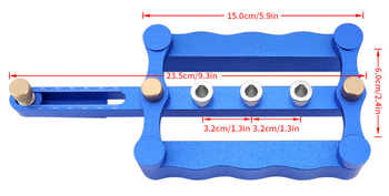 Woodworking Punching Locator round Wood Tenon Puncher Locator Tapper DIY Woodworking Tools