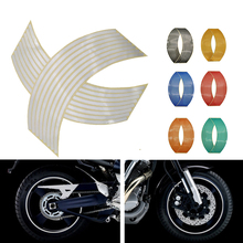 Motorcycle Wheel Sticker 3D Reflective Rim Tape Auto Decals Strips For BMW R1200 RT S ST S1000 R RR XR Ducati 748 916 996 998