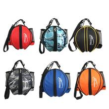 Basketball Bag Adjustable Easy to Carry Waterproof Soccer Volleyball Carrier Holder Bag for Football