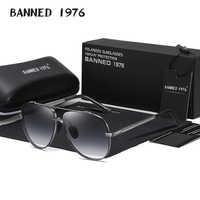 2021 Última Noticia los hombres calidad gafas de sol hombre conducción genial aviación TAC de Metal, gafas de sol hombre gafas UV400 original gafas