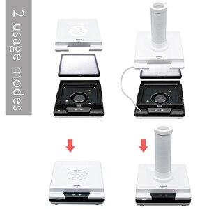 Image 4 - Neue Nagel Staub Collector LKE 4500RPM Starke Maniküre Staubsauger Für Nagel Bohrer Saug Maniküre Maschine Nail art Ausrüstung
