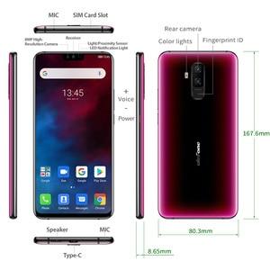 Image 5 - Ulefone T2 6.7 FHD + Helio P70 6GB 128GB Smartphone çift 4G parmak izi yüz kimlik NFC android 9.0 cep telefonu 4200mAh