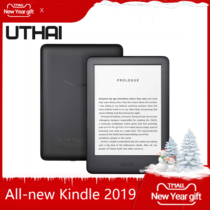 All-new Kindle Black 2019 version, Now with a Built-in Front Light, Wi-Fi 4GB eBook e-ink screen 6-inch e-Book Readers image