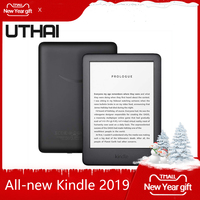 All new Kindle Black 2019 version, Now with a Built in Front Light, Wi Fi 4GB eBook e ink screen 6 inch e Book Readers
