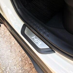 Image 2 - Fit Voor Toyota C HR Chr 2016 2017 2018 2019 Accessoires Rvs Instaplijsten Scuff Plate Welkom Pedaal Auto Styling 4 Stks/set