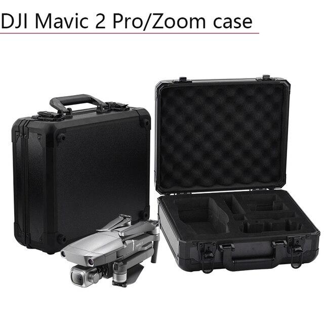 Aluminum Box Portable Storage Bag Waterproof Suitcase EVA Drone Quadcopter Accessories Spare Parts for DJI Mavic 2 Pro Zoom Case