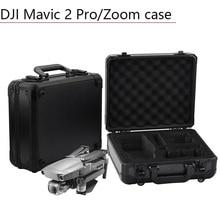 אלומיניום תיבת אחסון נייד תיק מזוודה עמיד למים EVA Drone Quadcopter אביזרי חלקי חילוף עבור DJI Mavic 2 פרו זום מקרה
