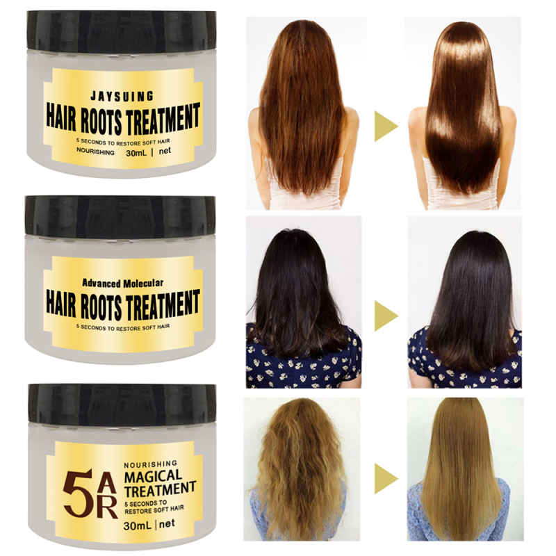 30ml Hair Treatment Mask 5 Seconds Repairs Damage Restore Soft Hair Root Hair Tonic Keratin Hair And Scalp Treatment TSLM1