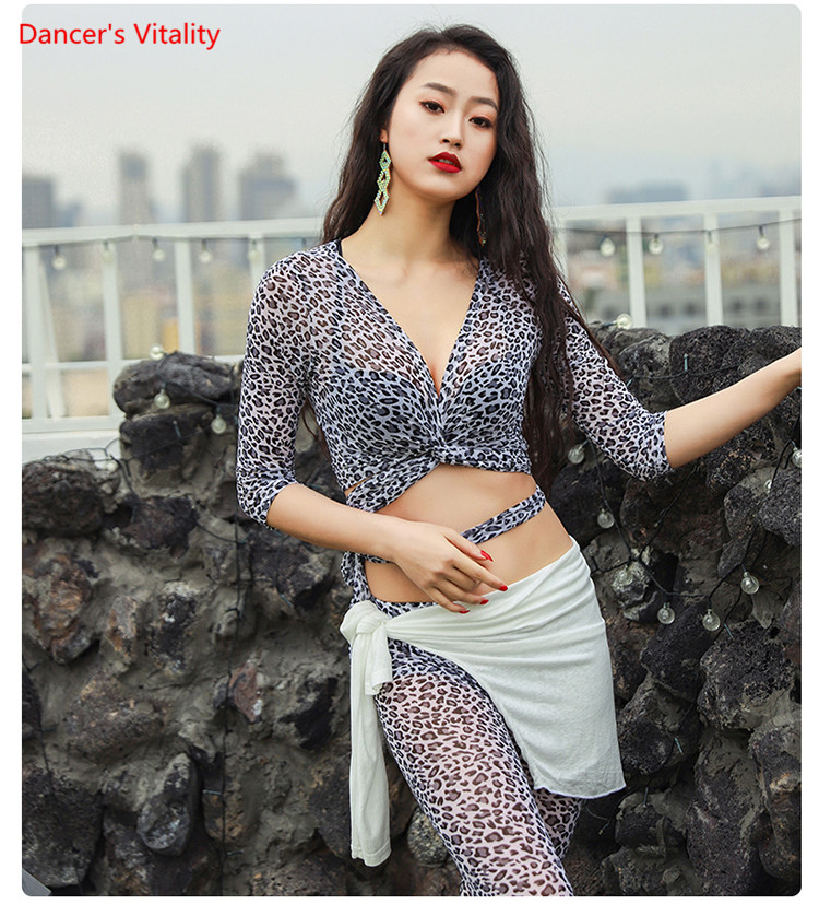 Spring Summer New Belly Dance Practice Clothes Garments Sexy Top Long Pants Lndian Oriental Dancing Sets