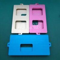 Quadro De Aperto do molde para iphone xs max xs x Tela de vidro dedicado posição fria cola segurando juntos molde|Kits ferr. cons. telef.|Telefonia e Comunicação -