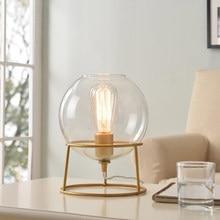 Moderno led de madeira sala de estar de vidro lampada da tavolo lampara de mesa sala de jantar sala de estar candeeiro de mesa