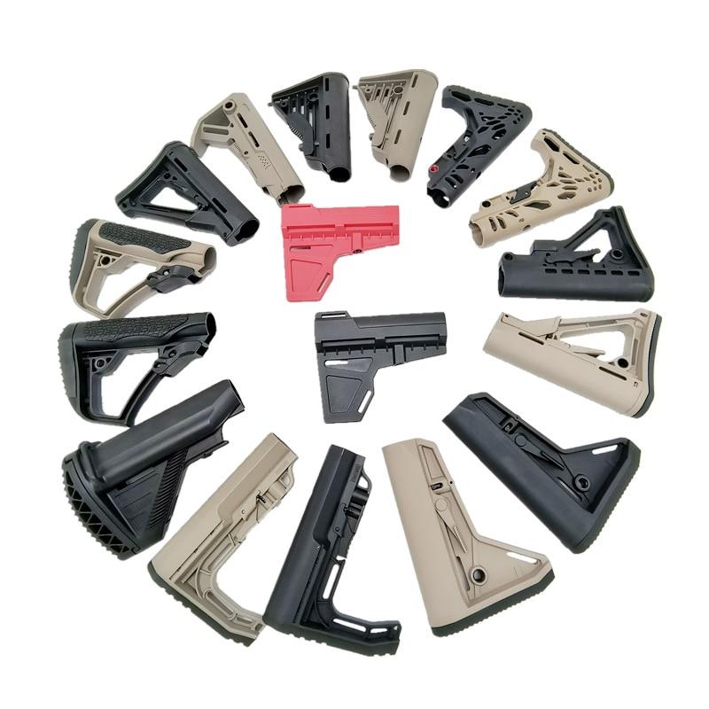 Уличное спортивное снаряжение, тактический нейлоновый запасной MFT CTR MOD MOE Stype Buttstock для jinmin8/9/10 Airsoft замененные аксессуары