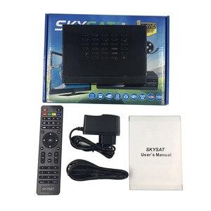 Image 5 - [3pcs] Satellite Empfänger SKYSAT V10 Plus unterstützung m3u CCCamd Newcamd Clin Powervu Biss WiFi Set Top box