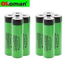 2021 новый оригинальный 18650 аккумулятор NCR18650B 3,7 в 3400 мАч 18650 литиевая аккумуляторная батарея для фонарика батареи (без PCB)