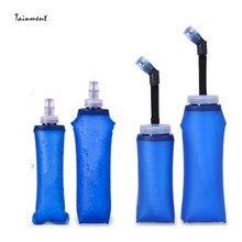 Outdoor TPU Folding Water Bottles BPA-Free Collapsible Flask