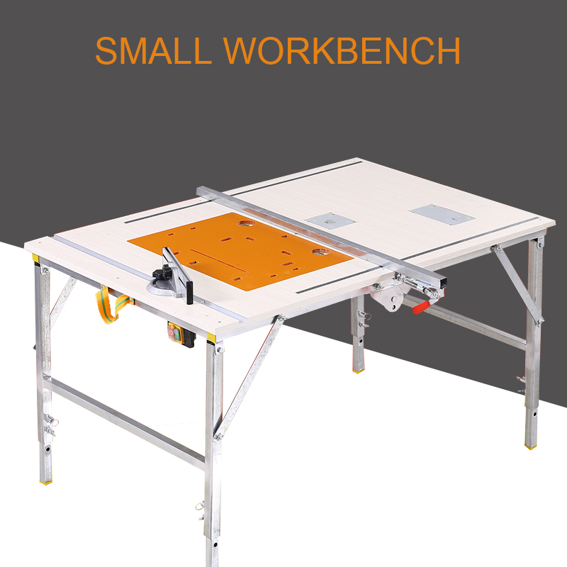 Multifunctional Sliding Table Saw Decoration Flip Saw Woodworking Table Saw Folding Saw Table Small Work Portable Table Saw