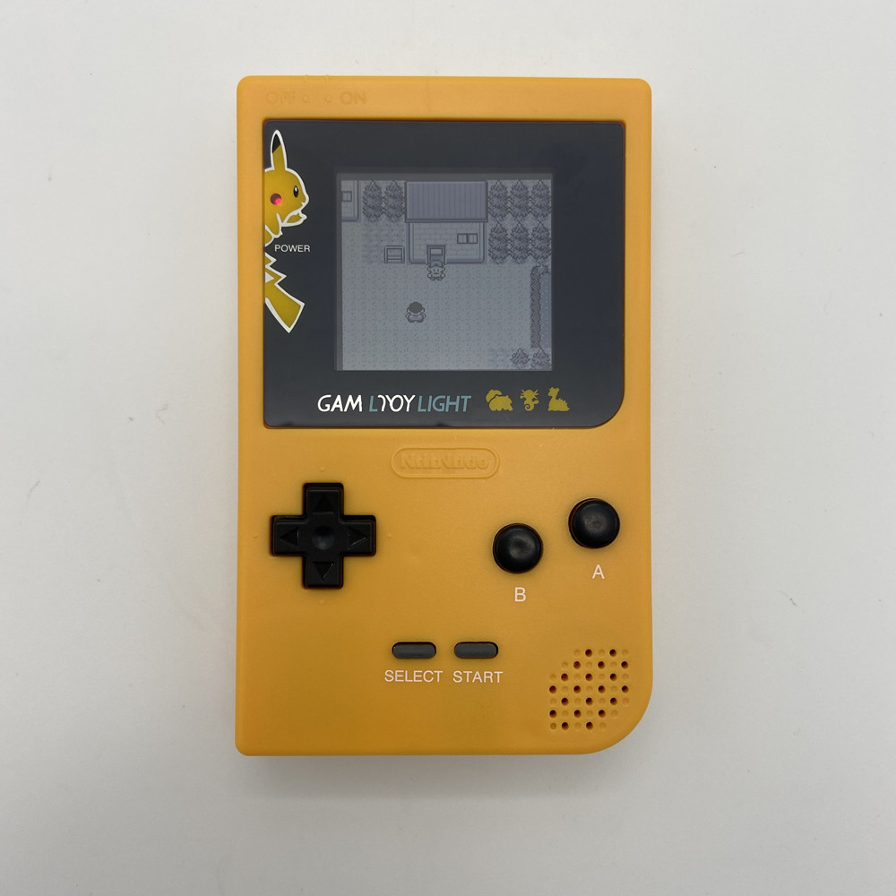 GBP with new shell and high brightness LCD Professionally Refurbished For Game Boy Pocket