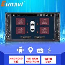 Eunavi 2 din 7 ''android 10 Автомобильный мультимедийный
