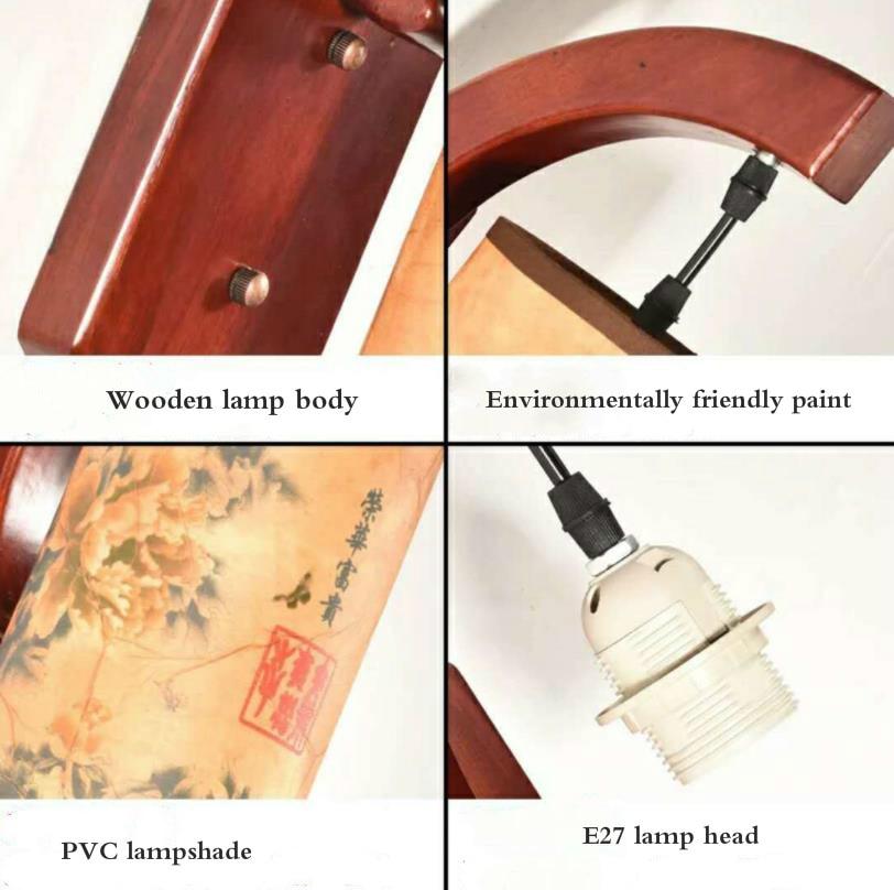 led estilo chines sala de estar lampada 04