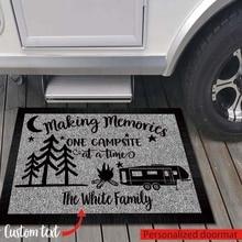 Напольный коврик для кемпинга с возможностью создания воспоминаний-индивидуальный резиновый дверной коврик на заказ-дом на колесах класса...