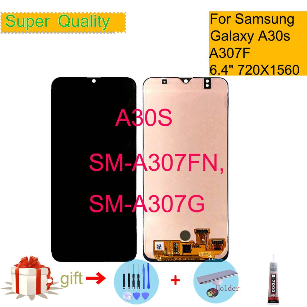 TFT For <font><b>Samsung</b></font> <font><b>galaxy</b></font> <font><b>A30S</b></font> <font><b>lcd</b></font> Display Touch Screen Digitizer A307F/DS A307FN A307G Assembly Replacement For <font><b>Samsung</b></font> A307 <font><b>LCD</b></font> image