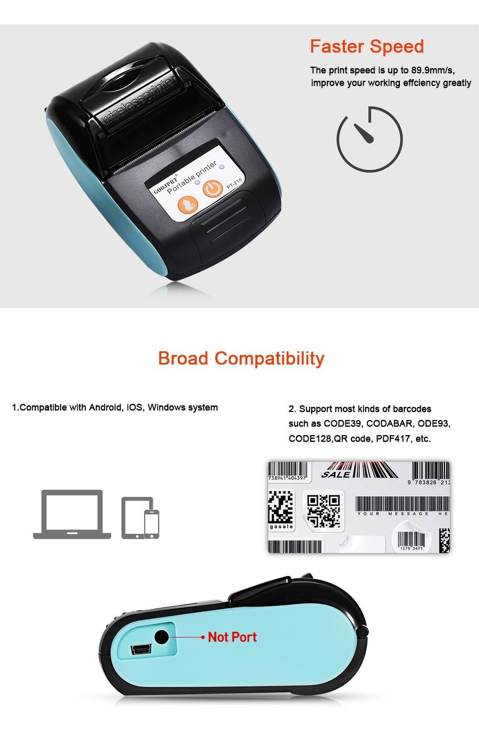 Wireless Thermal Printer