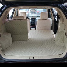 lsrtw2017  for hyundai tucson waterproof fiber leather car trunk mat cargo liner 2005 2006 2007 2008 2009 2010 sexy style solid color lace splicing bikini set for women