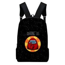 Among Us Backpack men School Children Cartoon School Supplies 3D Printed Satchel High Quality Book Backpacks Travel for Student