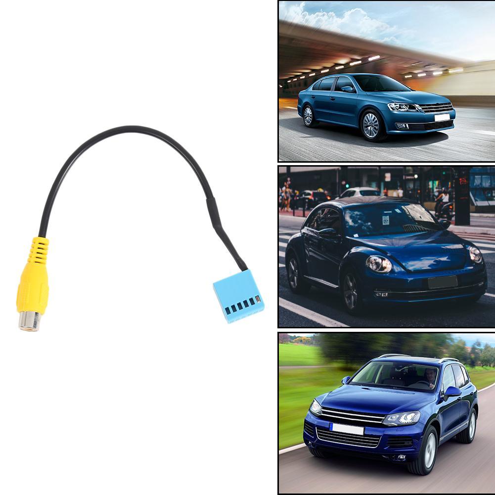 VODOOL Car Rear View Camera RVC Cable Adaptor For VW Golf VI Jetta 5 6 MK5 MK6 Passat B6 Touran Tiguan with MIB RCD330
