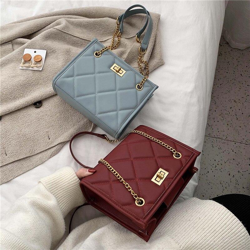 bolsa acolchoada feminina de luxo feita em