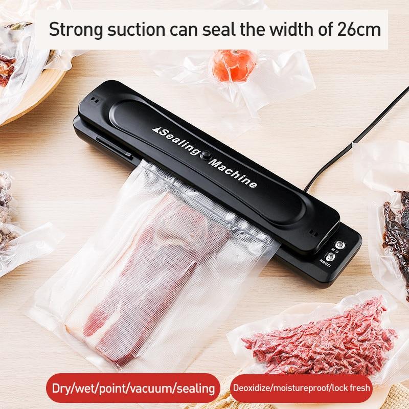 Portable Small Food Vacuum Sealer Automatic Vacuum Sealing Household Kitchen Preservation Machine Vacuum Packaging Machine