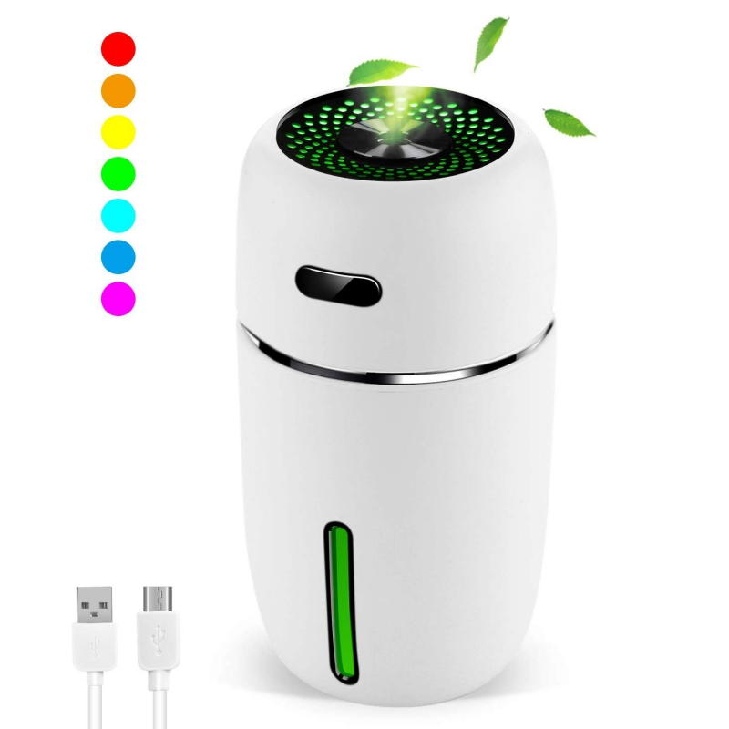 Newest Mini Car Humidifier Home Silent Desktop Portable USB Air Purifying Humidifier