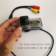 สำหรับToyota Land Cruiser Prado LC100 LC120 LC200 LC 100 120 200 HD CCDสำรองที่จอดรถย้อนกลับกล้องด้านหลังกล้อง