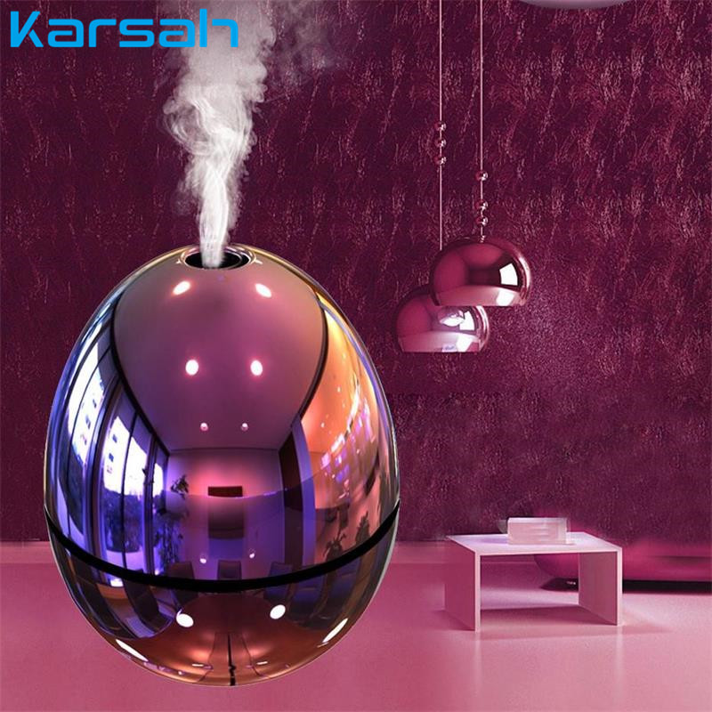 USB Air Humidifier Egg Shape Ultrasonic Fogger Mist Maker Aromatherapy Essential Oil Diffuser Car Purifier For Home Office