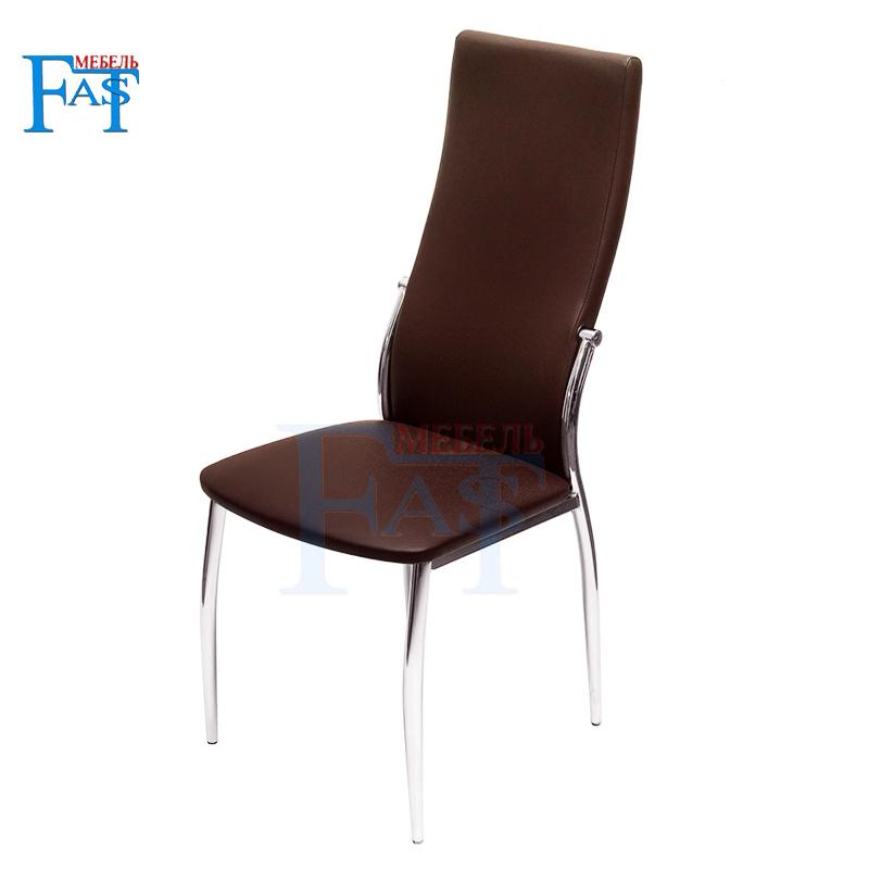 4 pcs Dining chair with pu leather ,kitchen chair, iron chrome chair.the bar's kitchen Family furniture,free delivery