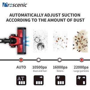 Image 2 - Proscenic I9 22000Pa el akülü elektrikli süpürge siklon taşınabilir elektrikli süpürge için ev dikey kablosuz halı temizleyici