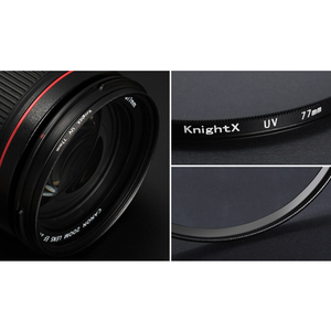 Image 4 - KnightX FLD UV CPL lens Filter 49 52 55 58 62 67 77 mm for nikon Canon Sony lens accessories camera d5200 d3300 canon 52mm 58mm