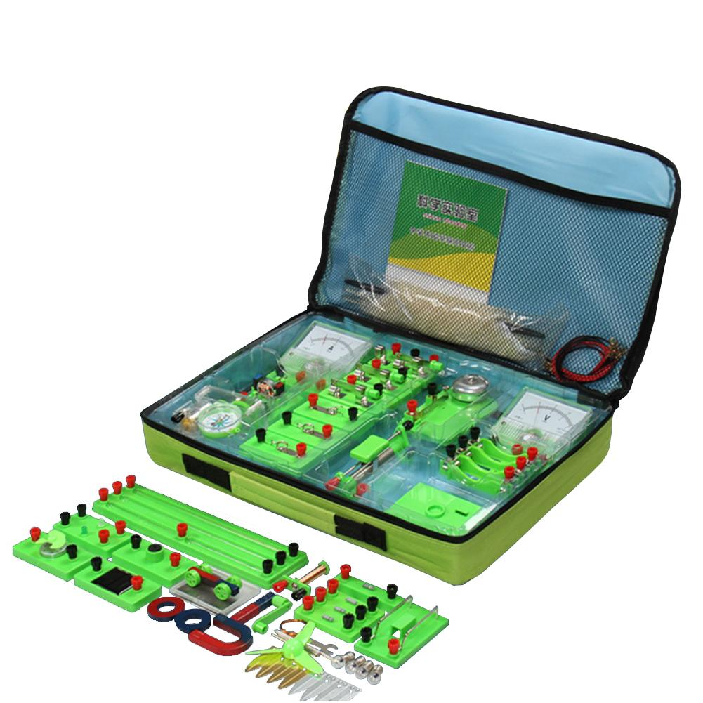 New DIY Electricity Test Children Electromagnetic Physics Science Experiment Set