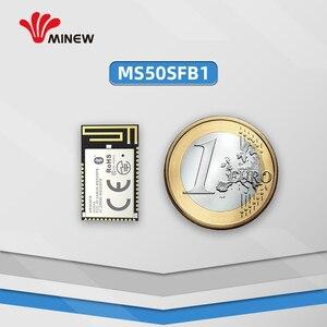 Image 3 - נורדי nrf52832 מודול uhf אלחוטי נתונים 2.4 ghz מקלט משדר uart ארוך טווח משדרים minew MS50SFB1