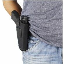 Тактический Компактный подкомпактный пистолет кобура поясной чехол Glock пистолет сумка охотничий Аксессуар Открытый CS поле Невидимый Тактический
