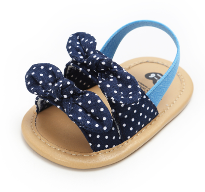 Baby Infant Kid Girl Soft Sole Crib Toddler Summer Princess Sandals Beach Shoes 0-18 Months