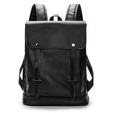 Мужская сумка через плечо рюкзак в стиле ретро школьная для