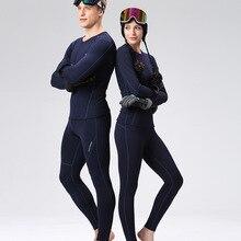 Зимняя Лыжная куртка и штаны для влюбленных, термобелье для катания на лыжах, Женское и мужское быстросохнущее кальсоны для катания на лыжах/верховой езды/альпинизма/велоспорта