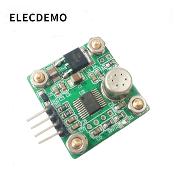 TGS2600 smoke sensor module Alcohol cooking gas detection Serial port computer 1~10ppm free shipping smoke detection sensor module tgs2600 module