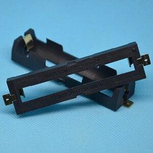 Image 4 - ABS 18650 כוח בנק מקרי 1X 2X 18650 סוללה מחזיק תיבת אחסון מקרה 1 2 חריץ סוללות מיכל עם קשה פין SMT אבזר
