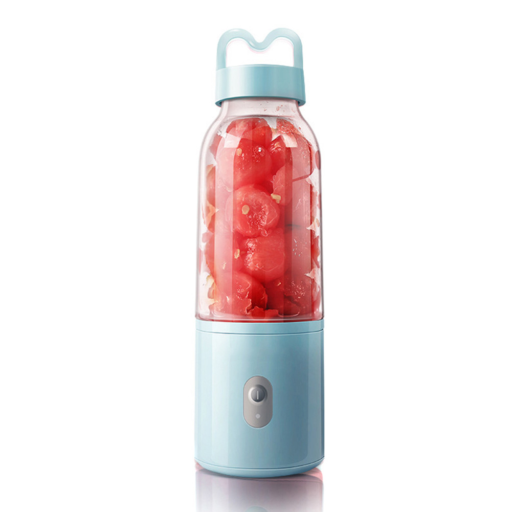 Electric Mini Juicer Cup USB Rechargeable Plug-in Portable Fruit Vegetable Blender Mixer 100% High Quality Guarantee title=